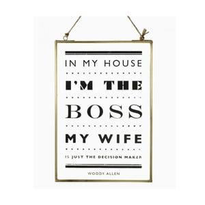 Závěsná dekorace The Boss
