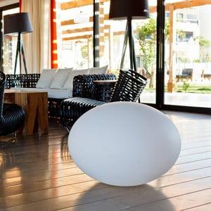 Náladové zahradní světlo Flatball M, 50x36 cm