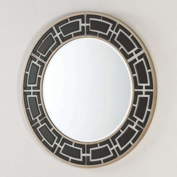 Nástěnné zrcadlo Thai Natura, ⌀110cm