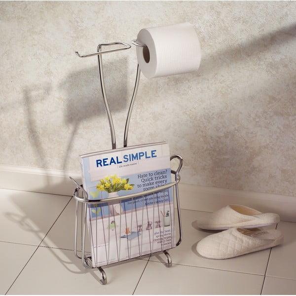 Stojan na toaletní papír a časopisy InterDesign Axis