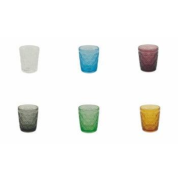 Set 6 pahare din sticlă Villa d'Este Marrakech, 240 ml, multicolor de la Villa d'Este