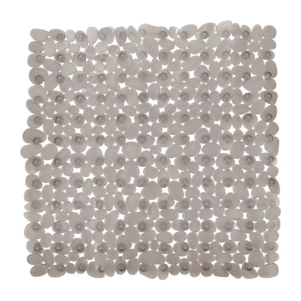 Drop szürkésbézs csúszásgátló zuhanyszőnyeg, 54 x 54 cm - Wenko