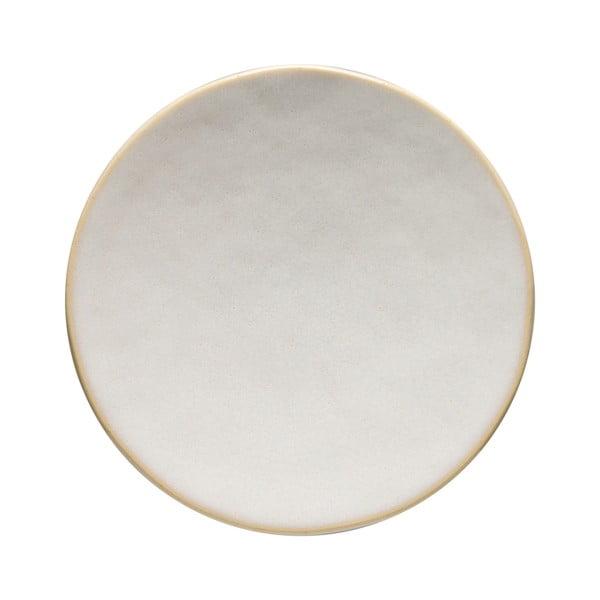 Biały kamionkowy półmisek Costa Nova Roda, ⌀ 19 cm