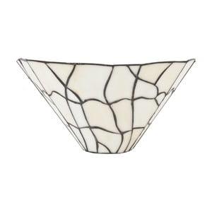 Tiffany nástěnné světlo White Cracked