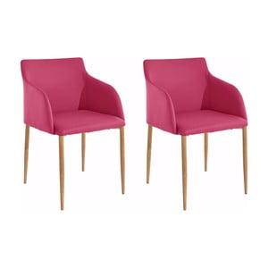 Sada 2 růžových židlí Støraa Nimbus