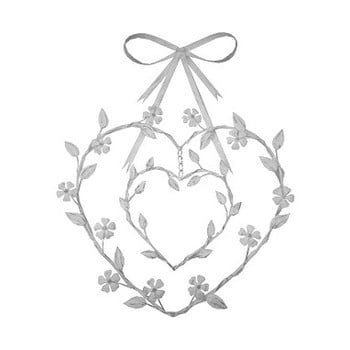 Decoraţiune formă inimă Antic Line Amour de la Antic Line