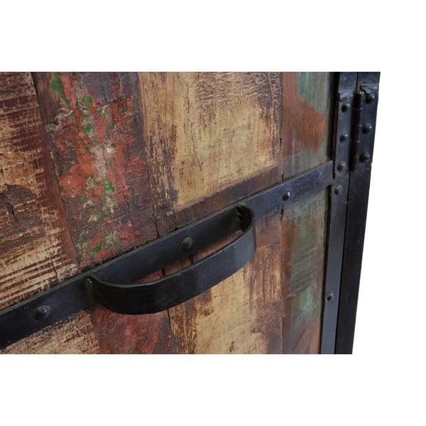 Dřevěná skříň Goa, 183 cm