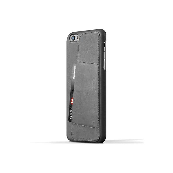 Peněženkový obal Mujjo na telefon iPhone 6 Plus Gray