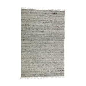 Šedý vlněný koberec De Eekhoorn Fields, 240x170cm
