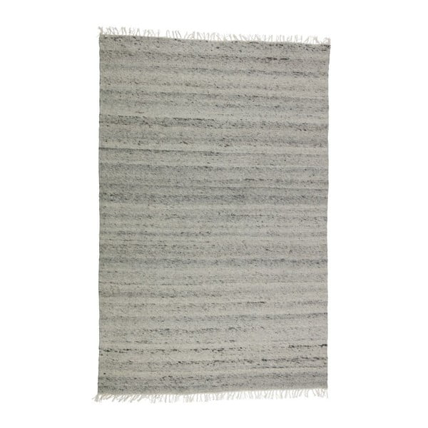Fields szürke gyapjú szőnyeg, 240 x 170 cm - BePureHome