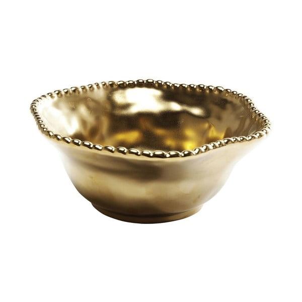 Mísa ve zlaté barvě Kare Design Bell Gold, ⌀16cm