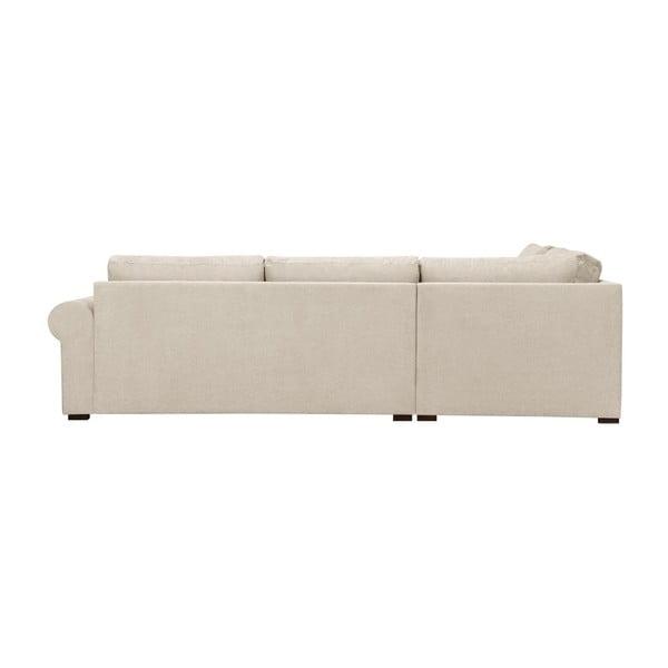 Béžová pohovka Windsor & Co Sofas Hermes, pravý roh