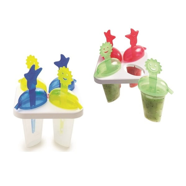 Set 8 forme pentru înghețată pe băț Snips Mister