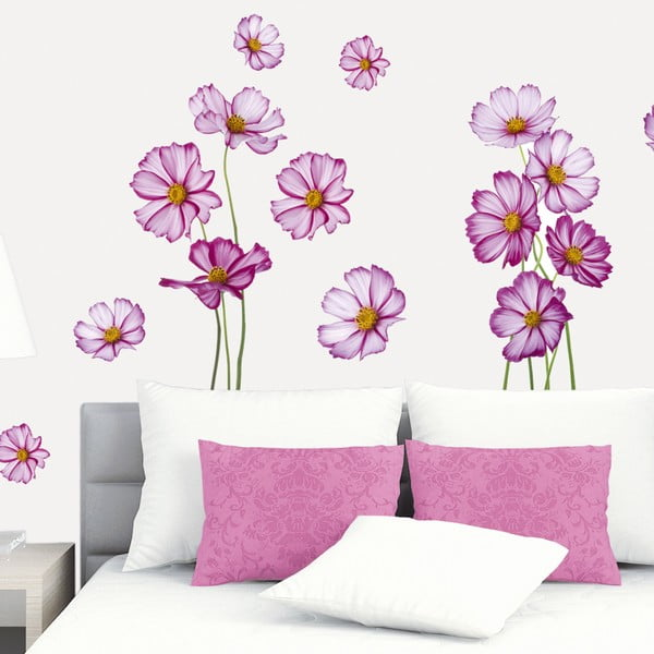 Samolepka I Love These Flowers