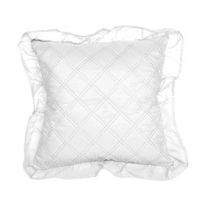 Bílý povlak na polštář Slowdeco Ruff, 40 x 40 cm