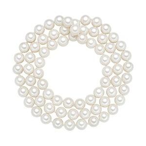 Lănțișor cu perle albe  ⌀ 10 mm Perldesse Muschel, lungime 80 cm