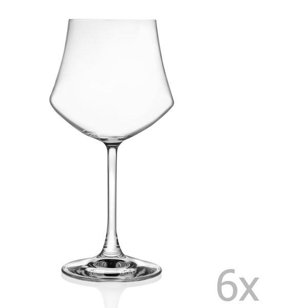 Zestaw 6 kieliszków do wina RCR Cristalleria Italiana Susana, 430 ml