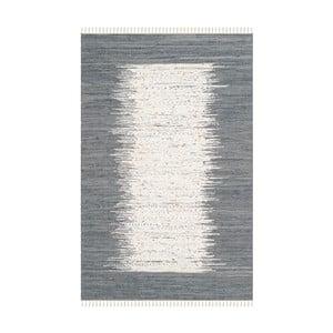 Šedý koberec Safavieh Saltillo, 152 x 243cm