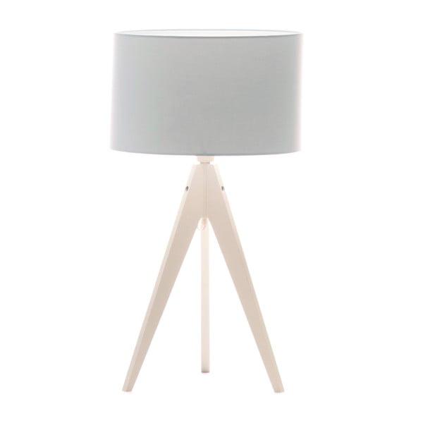 Stolní lampa Artist Baby Blue/White, 40x33 cm