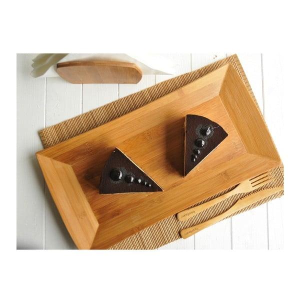 Bambusová servírovací miska Americano, 19 cm