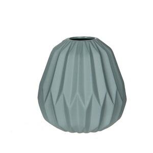 Mátově zelená porcelánová váza Mica Fena, 15,5x14,5cm