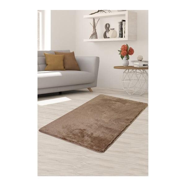 Světle hnědý koberec Milano, 140x80cm