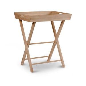 Odkládací stolek z dubového dřeva Garden Trading Hambledon Butlers Tray Raw Oak
