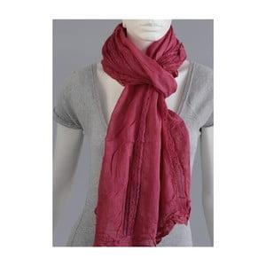Tmavě růžový šátek