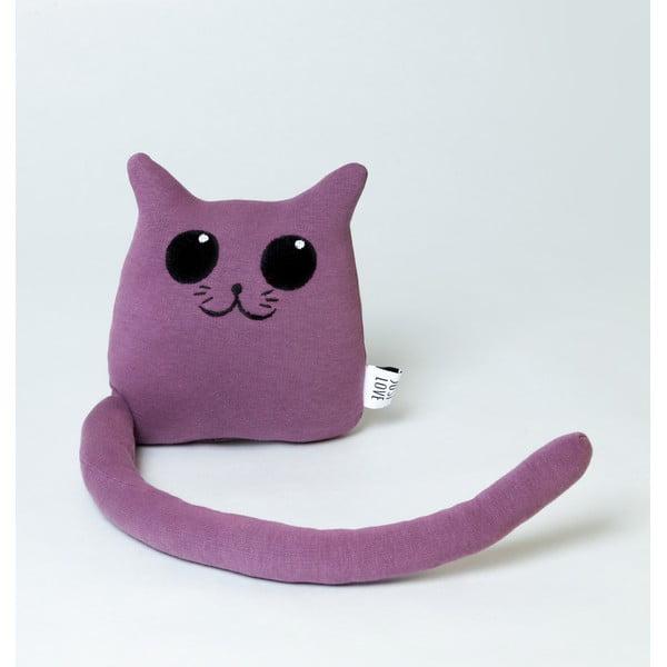 Plyšák Kočka, fialová