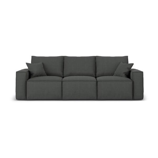 Miami sötétszürke háromszemélyes kanapé - Cosmopolitan Design