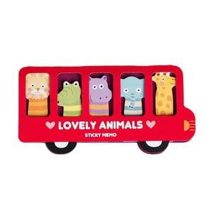 Sada lepíků Rex London Lovely Animals