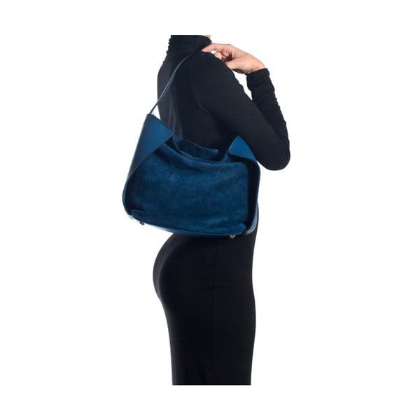 Kožená kabelka Sofia Cardoni 8009 Blu