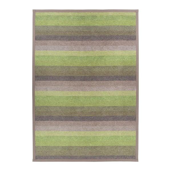 Luke Green zöld kétoldalas szőnyeg, 80 x 250 cm - Narma