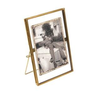 Zlatý rámeček na fotografii Rex London Brass, 15x10cm