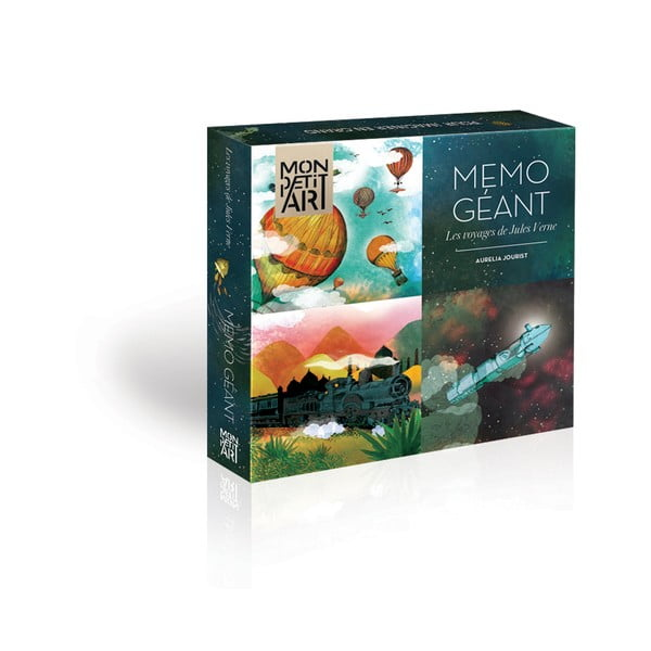 Joc de memorie Mon Petit Art Jules Verne