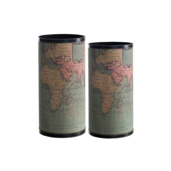 Sada 2 stojanů na deštníky Cosas de Casa Mapa světa