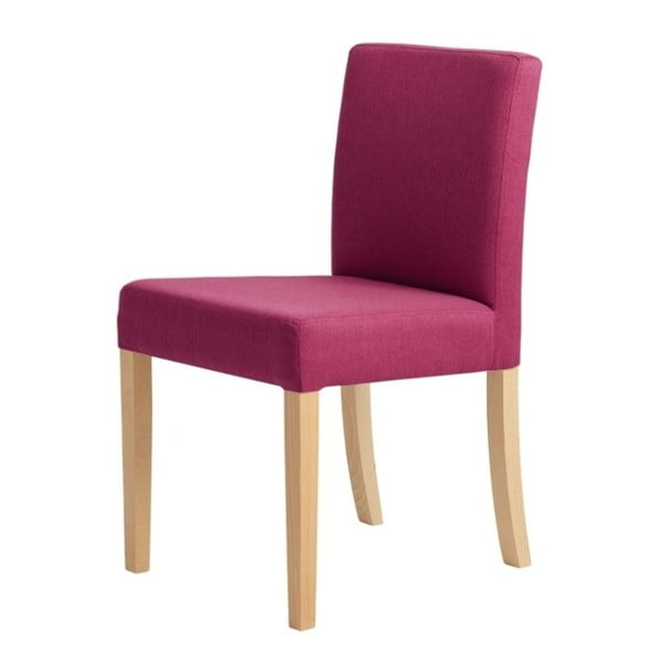 Scaun cu picioare de culoare naturală, Custom Form Wilton, roz