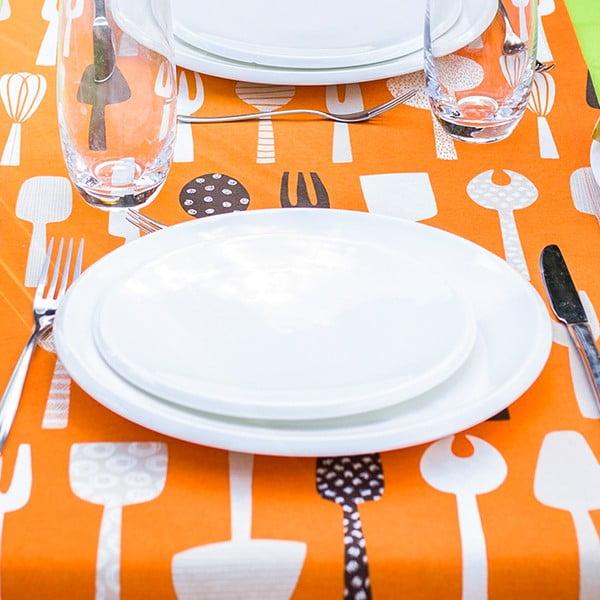 Ubrus Chef Naranja, 40x135 cm
