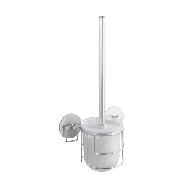 Samodržící stojan s toaletním kartáčem Wenko Aluminium, až 40 kg