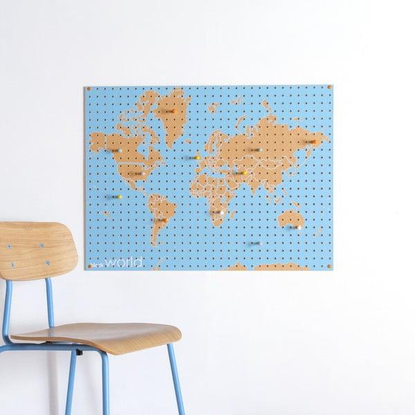 Multifunkční nástěnka Pegboard World, 61x81 cm