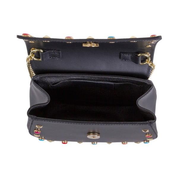 Černá kabelka z pravé kůže Andrea Cardone Anjelica