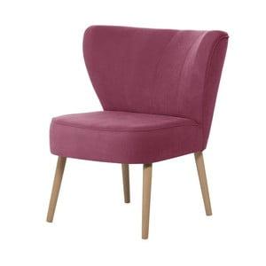 Fuchsiově růžové křeslo My Pop Design Hamilton