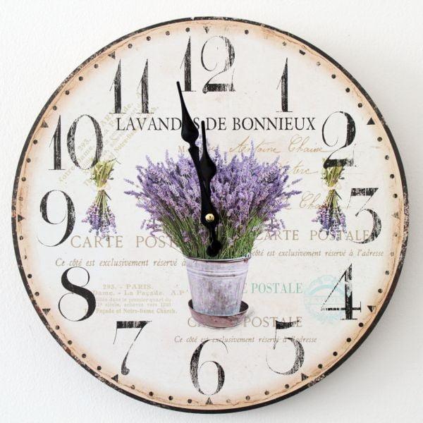 Vintage hodiny Lavenders de Bonnieux