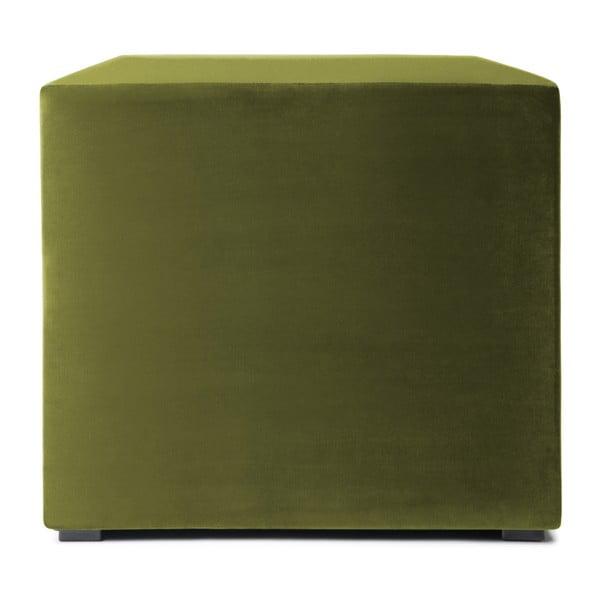 Olivově zelený puf Vivonita Julia
