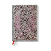 Diář na rok 2014 - Blush Pink 13x18 cm, vertikální výpis dnů