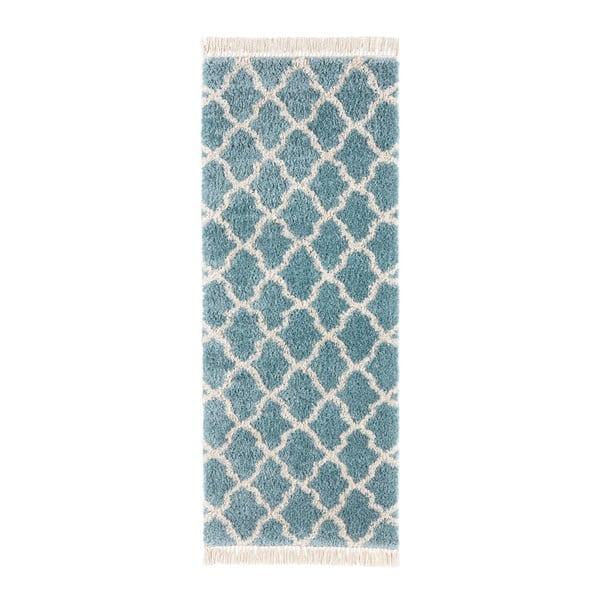 Modrý běhoun Mint Rugs Marino, 80x200cm