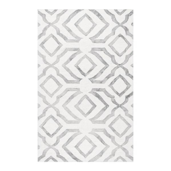 Vlněný koberec nuLOOM Elegino Grey, 152 x244cm