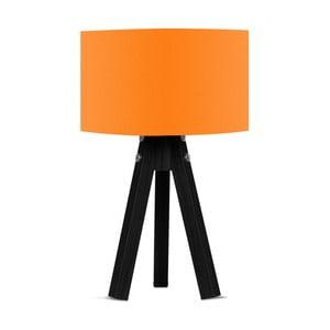 Stolní lampa s oranžovým stínítkem Kate Louise Blackie