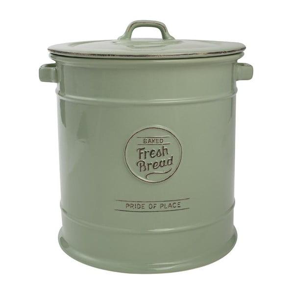 Zielony pojemnik ceramiczny na pieczywo T&G Woodware Pride Of Place