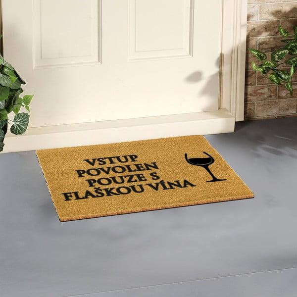 Rohožka Artsy Doormats Flaška Vína,40x60cm